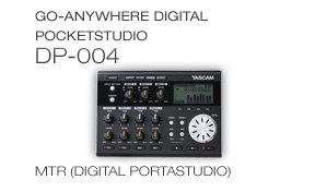 DP-004: Go-Anywhere Digital Pocketstudio