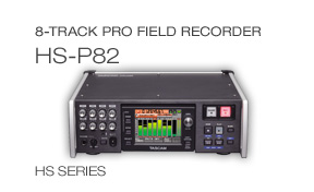HS-P82: 8-Track Pro Field Recorder