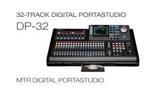 DP-32 Digital Portastudio