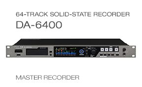 DA-6400 multitrack recorder