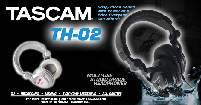 TH-02 Multi-Use Studio Grade Headphones