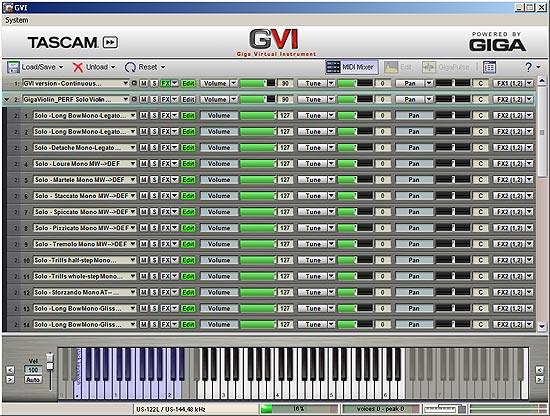 Product: GVI | TASCAM