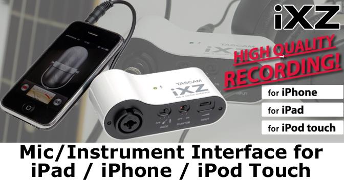 iXZ - Recording Studio Made Portable