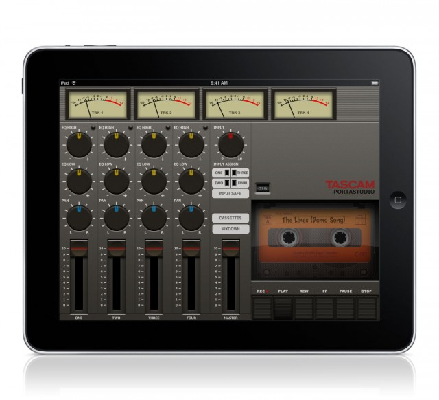 Tascam iPad Portastudio