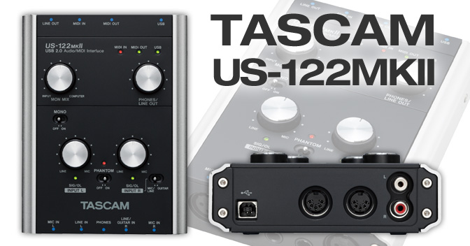 Product: US-122MKII | TASCAM