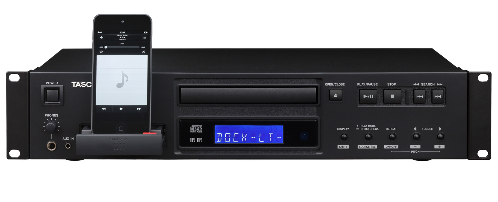 Reproductor CD Tascam CD-200IL