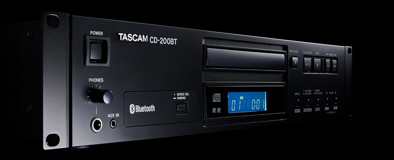CD-200BT | 製品トップ | TASCAM...