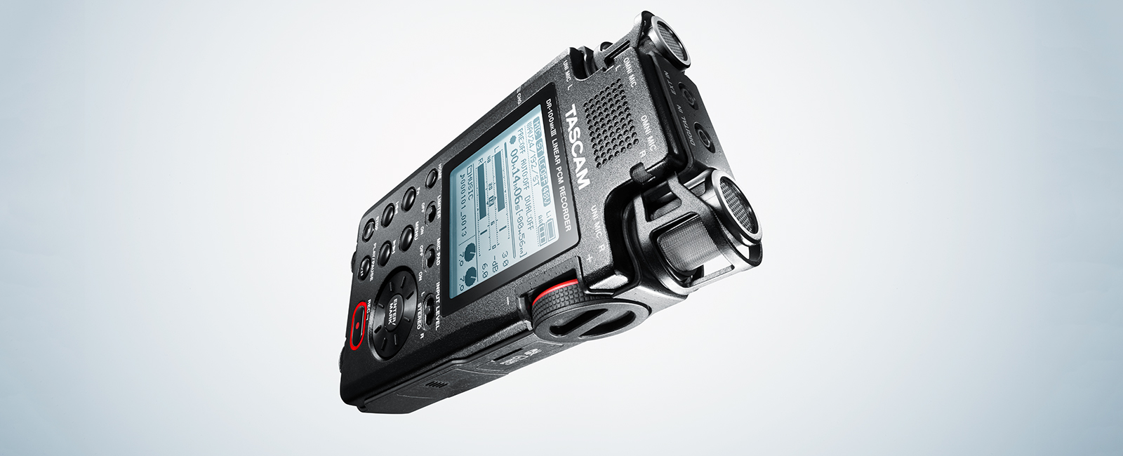 DR-100MKIII | FEATURES | TASCAM - United States