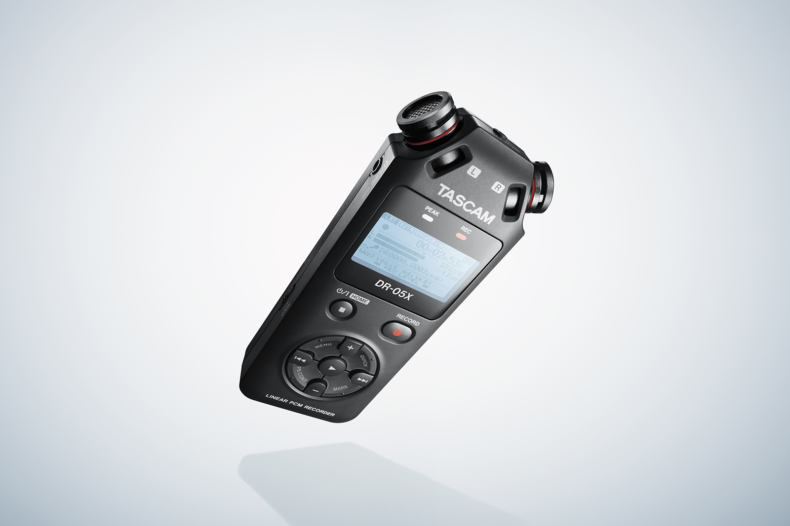 The DR-X Series: More Than A Handheld Recorder