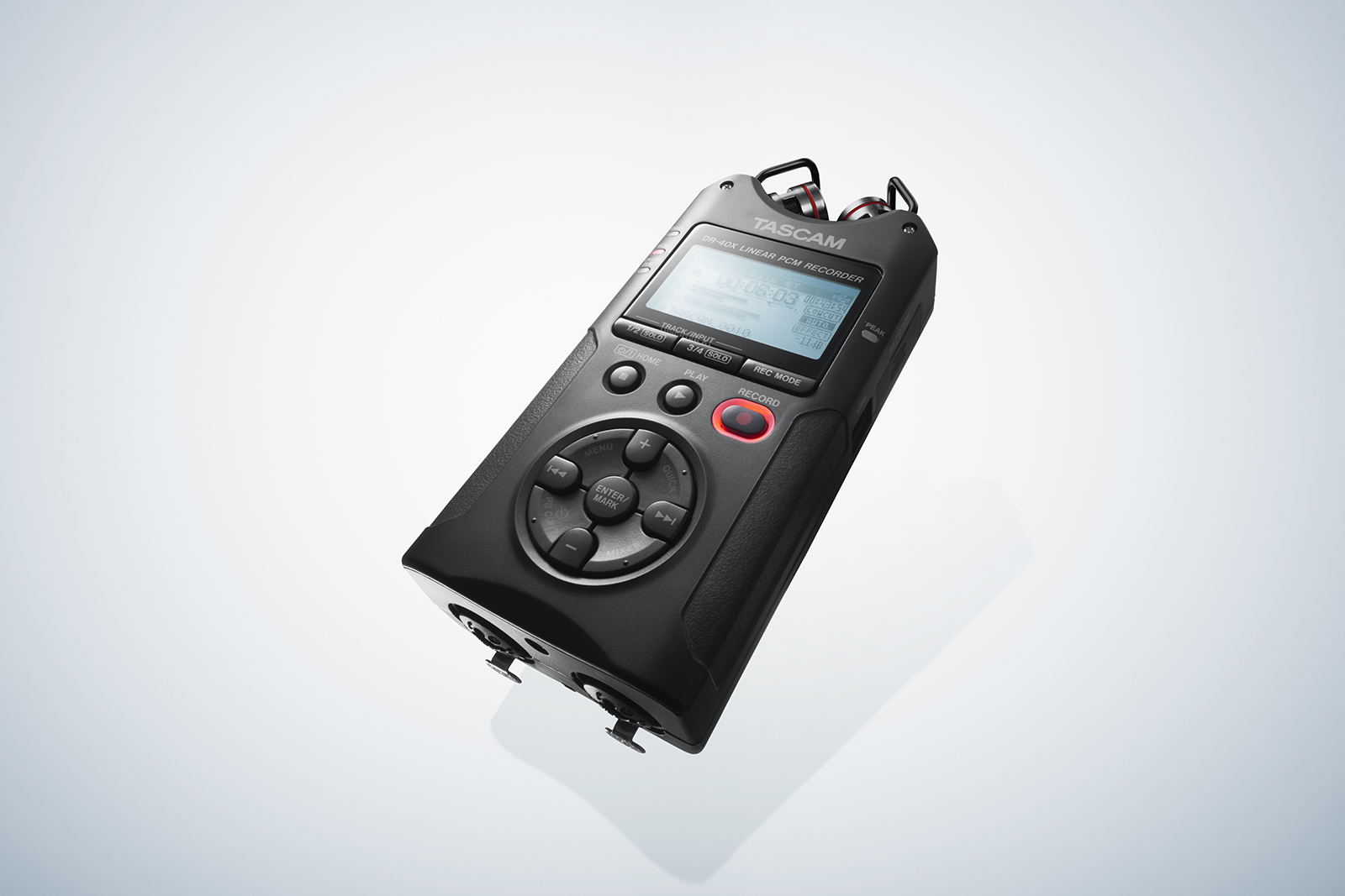 TASCAM DR-40X Four Track Hand-Held Digital Audio Recorder