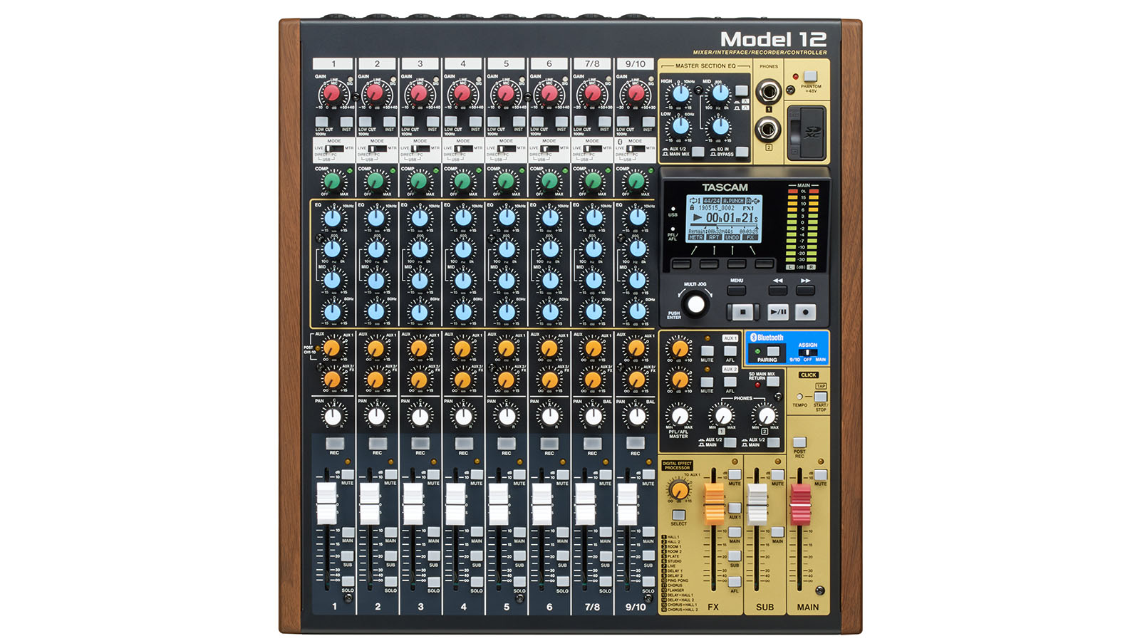 First Look : TASCAM Model 12 Mixer/Recorder/Interface