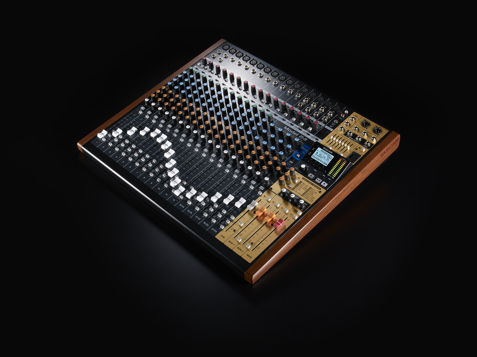 Model 24 Features Tascam Integrated Electronics Analog And Digital Circuits Systems By
