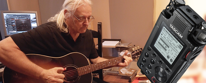 DR-100mkIII Helps Composer Glenn Jordan Capture the Nuance