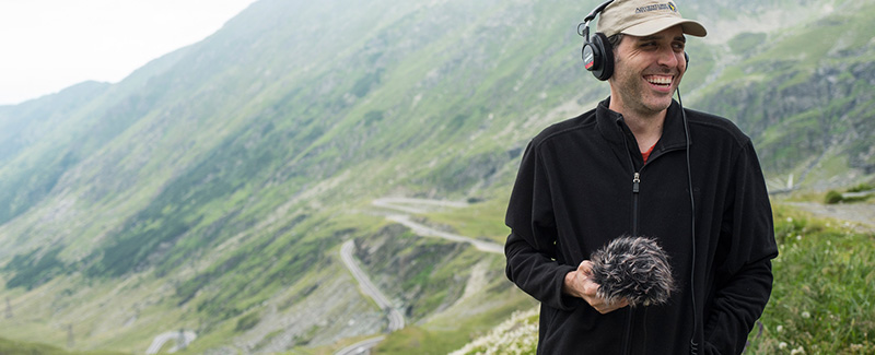Journalist Scott Gurian Carries TASCAM DR-40 Far From Home