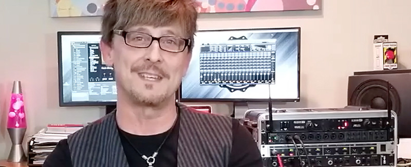 TASCAM US-20x20 the Critical Element in Guitarist Wright-Mark's Live Rig