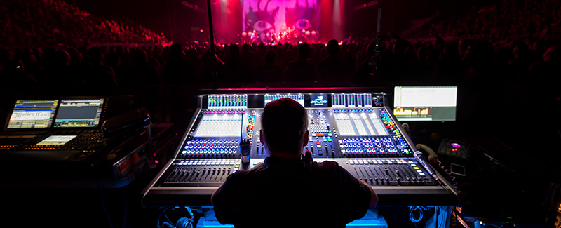 CLAIR GLOBAL TOURS THE WORLD WITH TASCAM