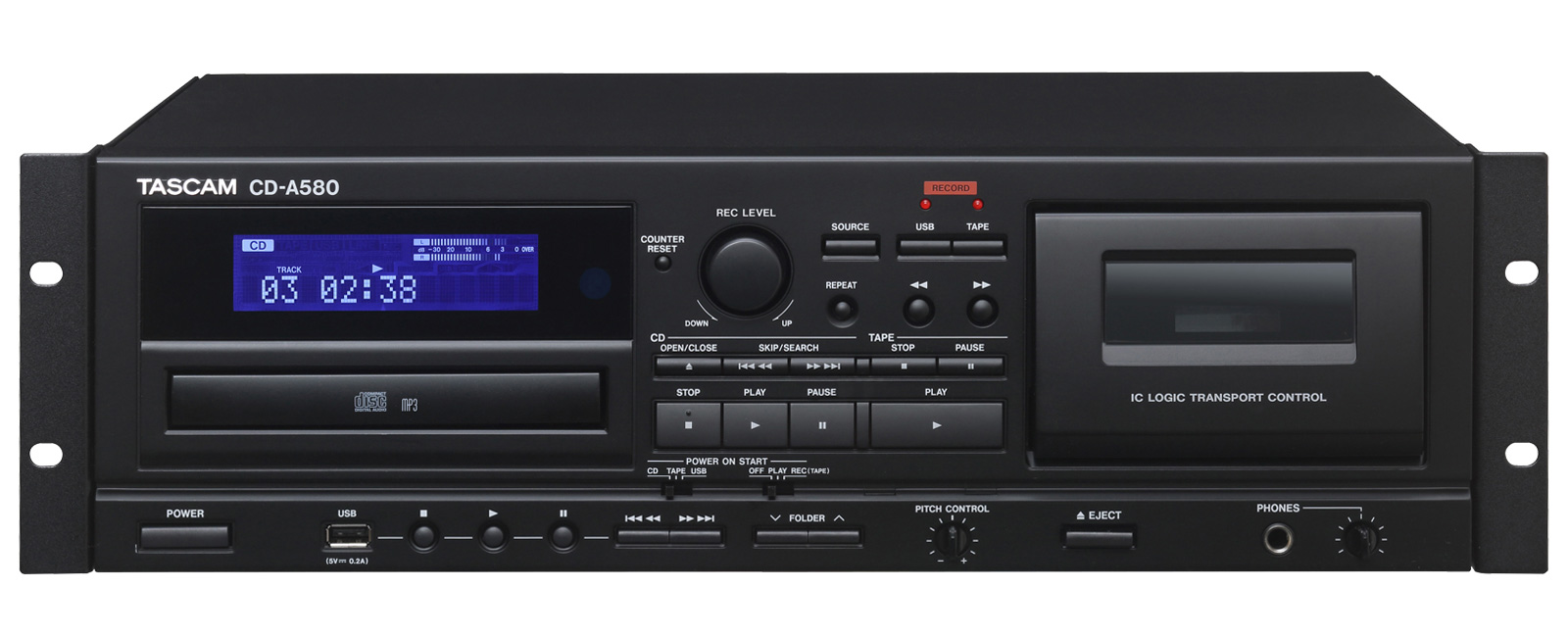 CD-A580 | OVERVIEW | TASCAM - United States