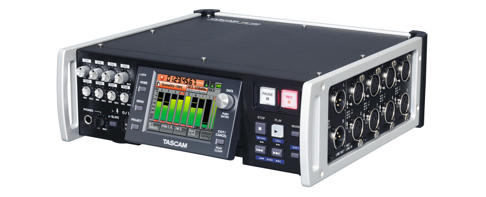Hs P82 Features Tascam The Project Is A Simple 12bit 8channel Analog To Digital Converter 8 Track Pro Field Recorder