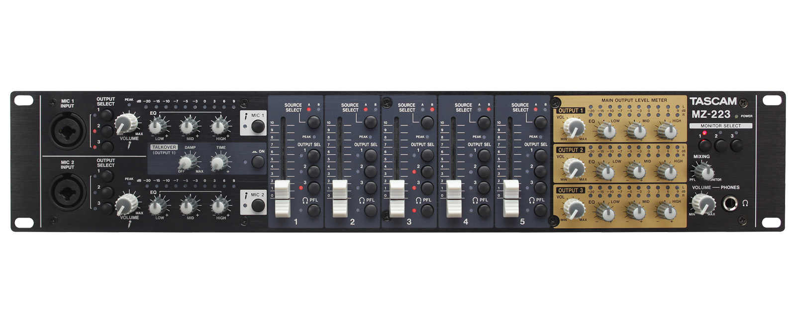 MZ-223 | OVERVIEW | TASCAM - United States