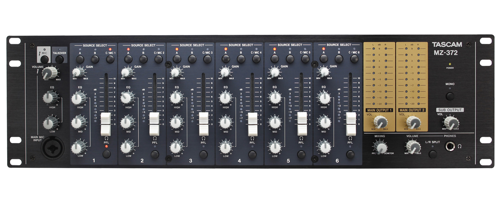 MZ-372 | OVERVIEW | TASCAM - United States