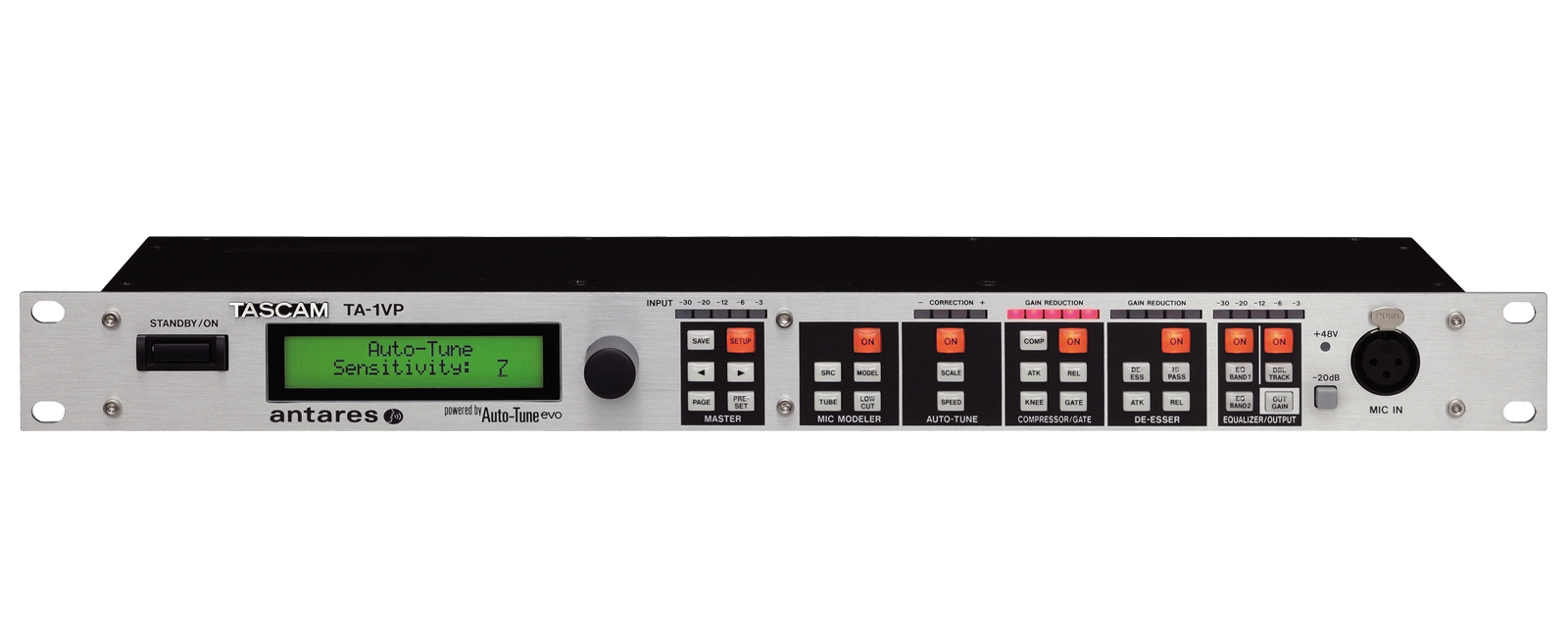 Ta 1vp Overview Tascam International Website Audio Preamp Circuits Microphone Amplifier And Integrated With Tascams Circuit Technology For Attaining High Sound Quality Fostered By The Development Of Professional Acoustic