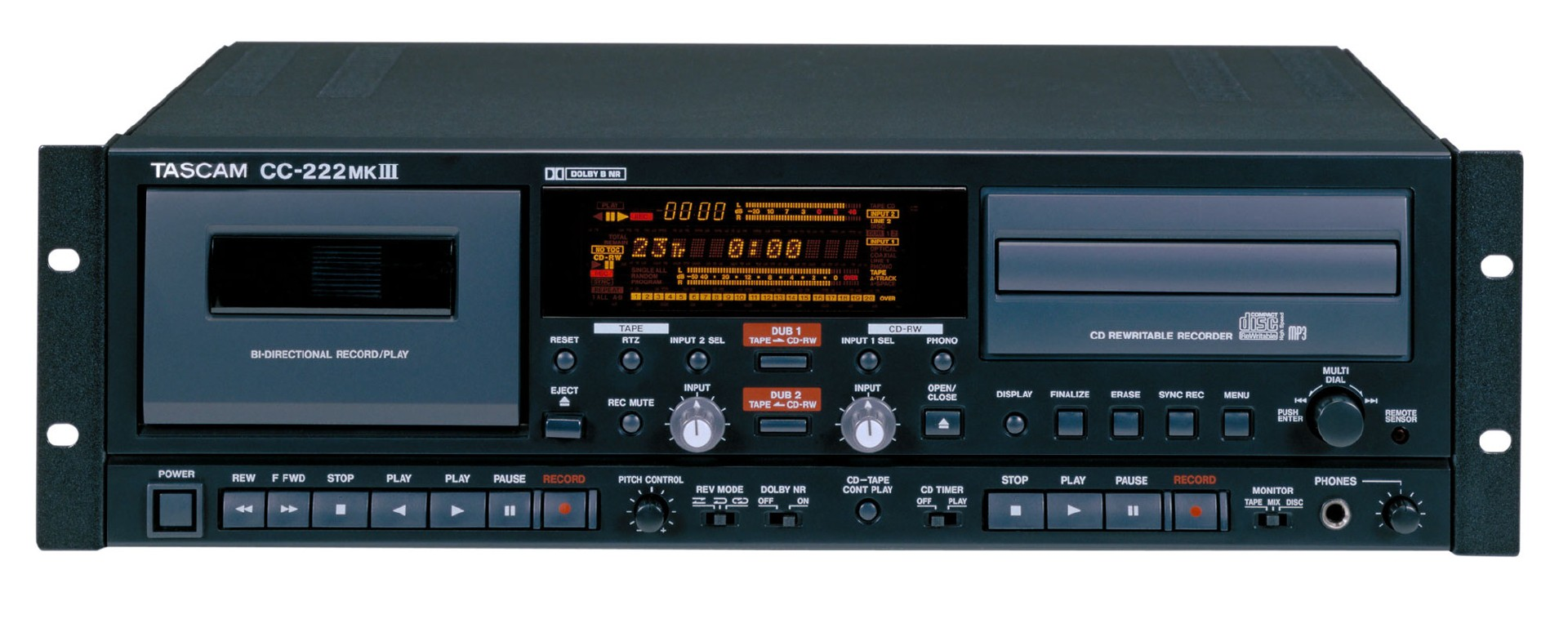 CC-222MKIII | FEATURES | TASCAM - United States