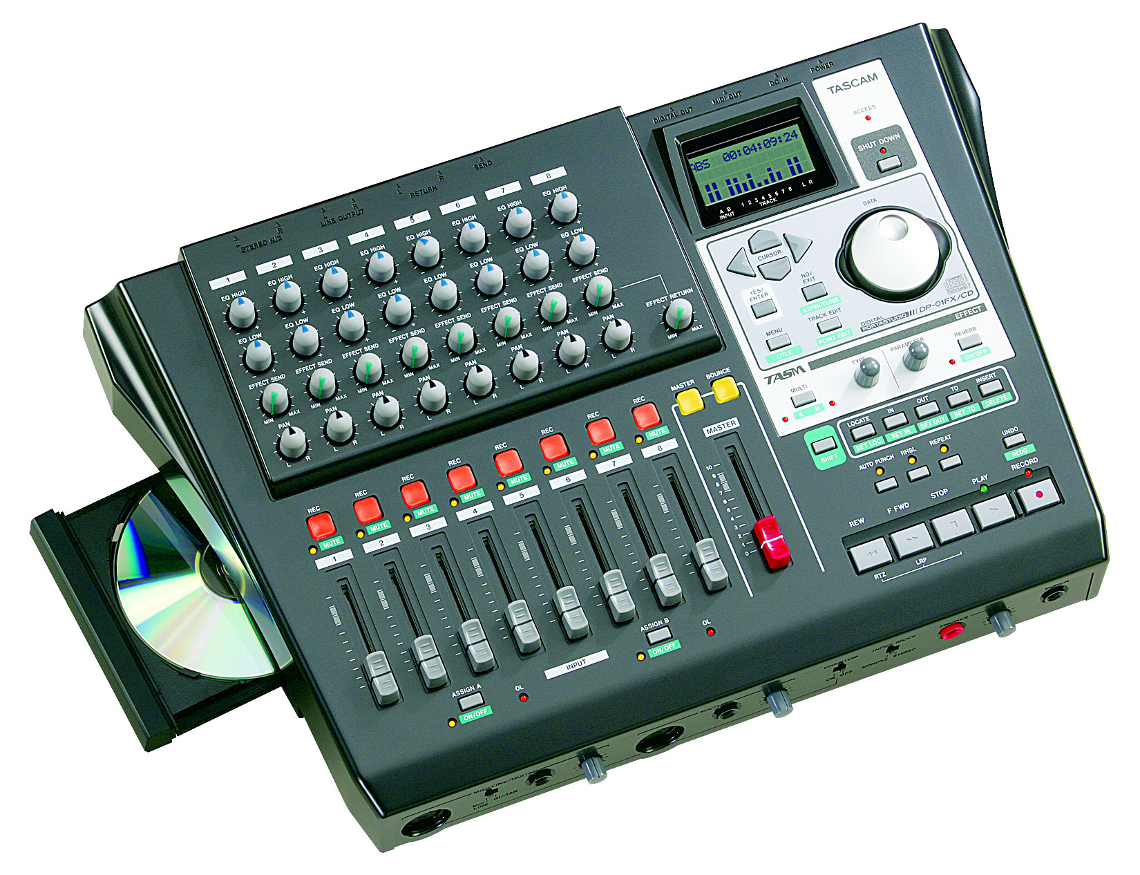 DP-01FX/CD   FEATURES   TASCAM - United States