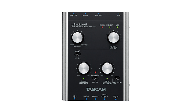 US-122MKII | DOWNLOADS | TASCAM - United States