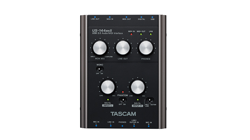 US-144MKII | DOWNLOADS | TASCAM - United States