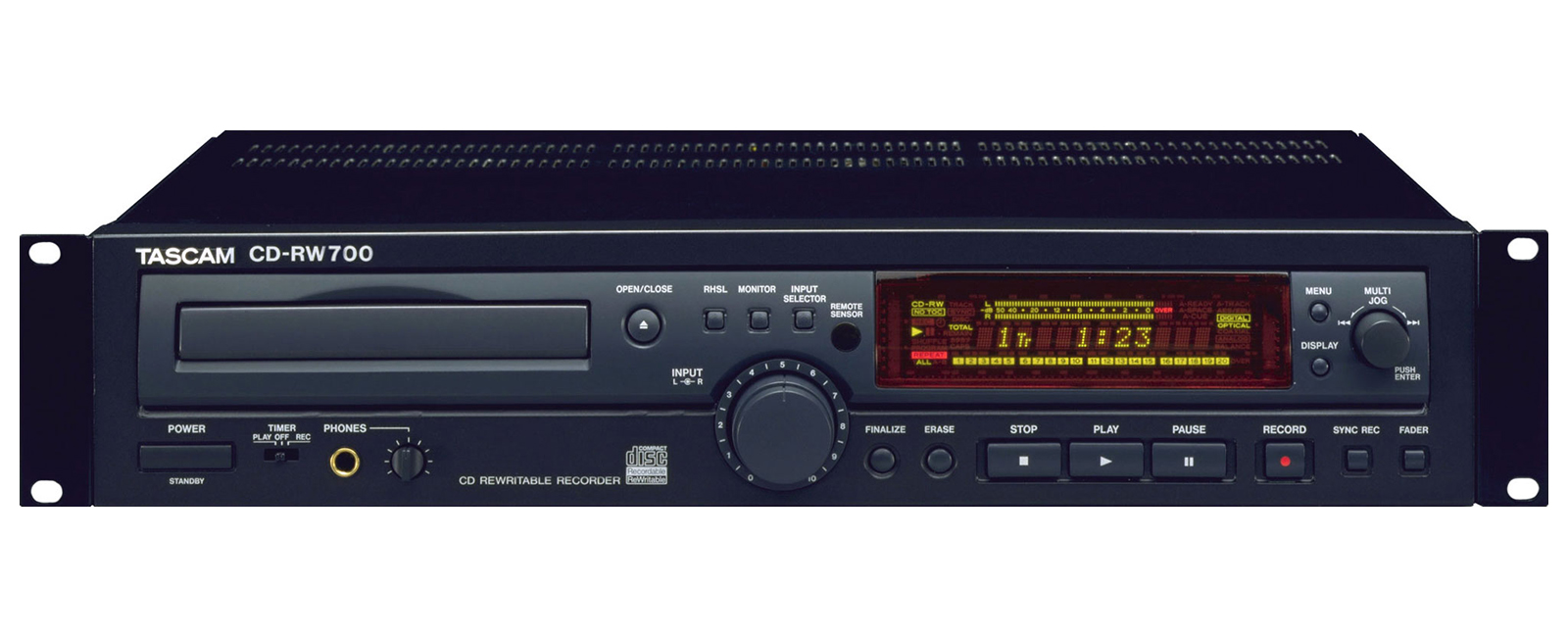 Tascam CD-RW700 operating instructions user manual