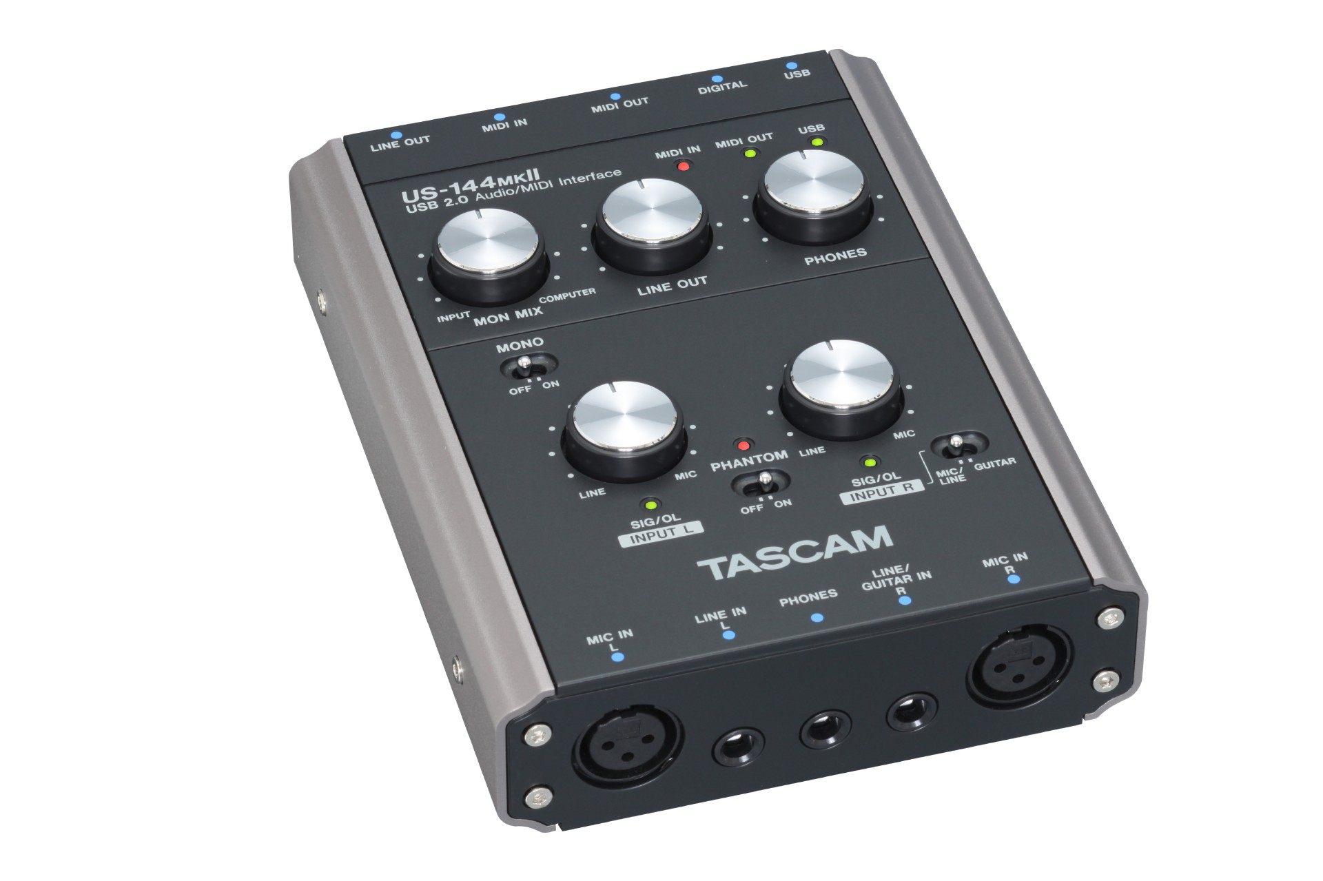 US-144MKII | FEATURES | TASCAM - United States